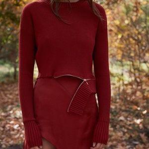 Annie Zipper Sweater